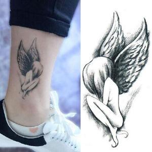 elegant angel wing girl design