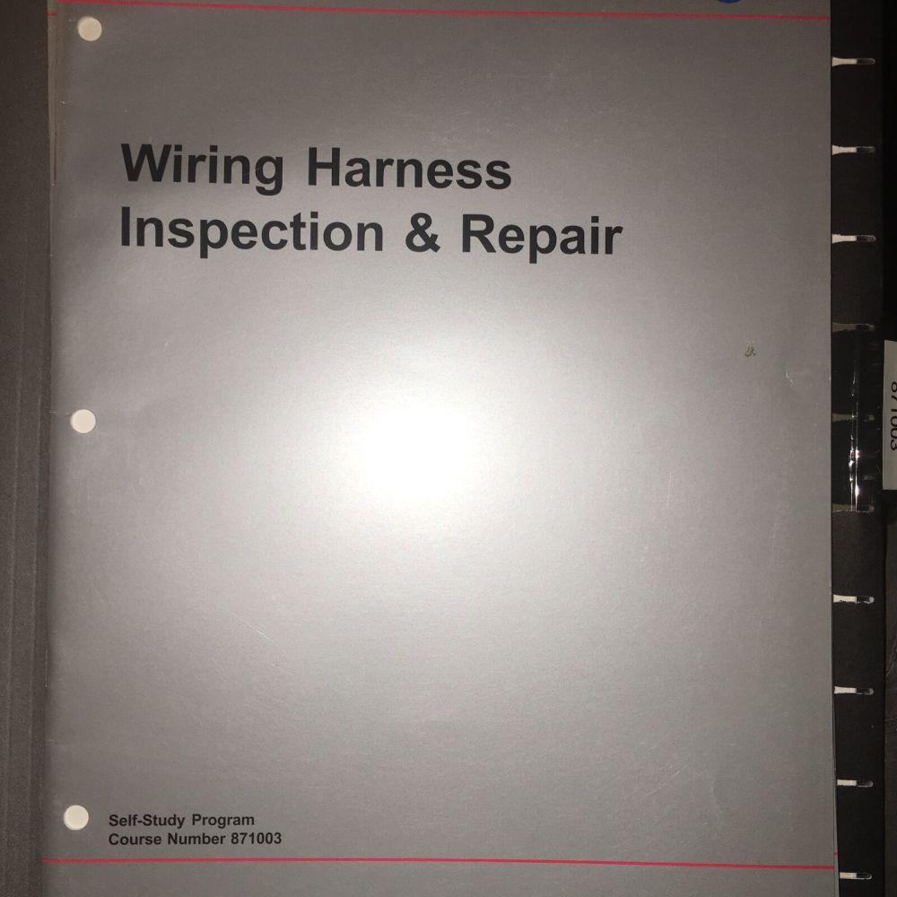 medium resolution of vw manual 871003 volkswagen wiring harness service repair training manual exam ebay