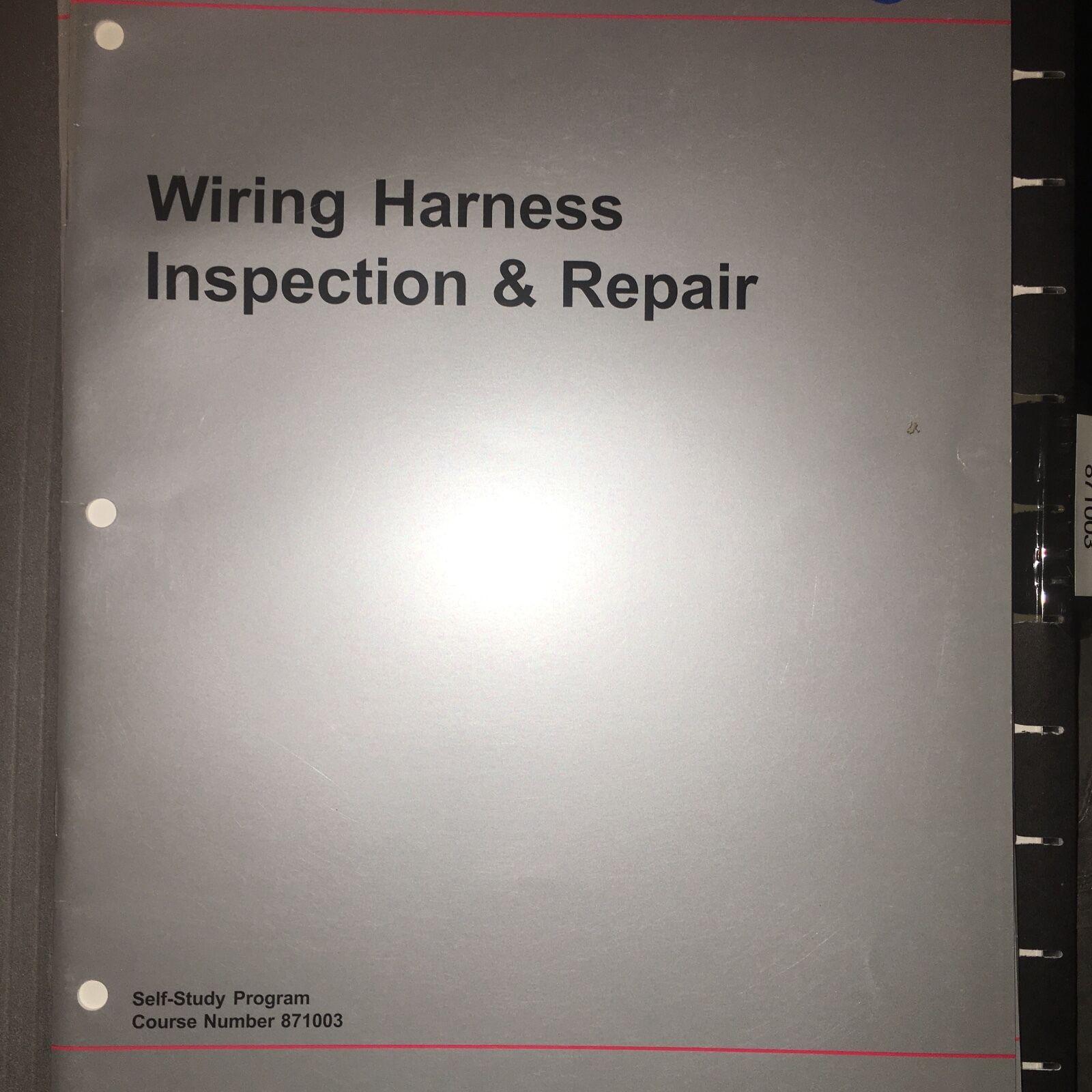 hight resolution of vw manual 871003 volkswagen wiring harness service repair training manual exam ebay