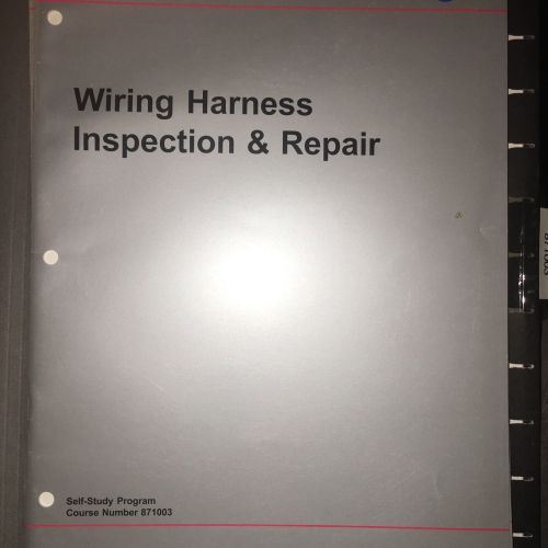 small resolution of vw manual 871003 volkswagen wiring harness service repair training manual exam ebay
