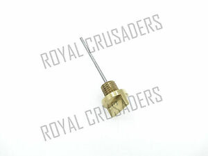 NEW ROYAL ENFIELD THUNDERBIRD OIL GUAGE DIP STICK BRASS
