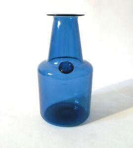 details zu 60s jacob bang kastrup holmegaard siegel glas vase capri glass verre annees 60