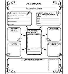 Scholastic Graphic Organizer Posters All-About-Me (30