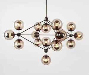 Image Is Loading 15 Globe Jason Miller Modo Chandelier Replica Light