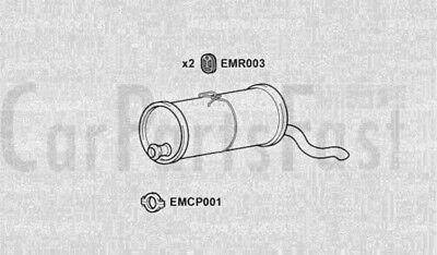 Exhaust Rear Box Citroen Berlingo Multispace 1.6 Petrol
