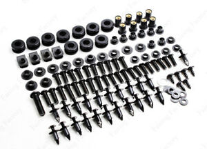 Complete Fairing Bolt Kit Bodywork Screws For Suzuki