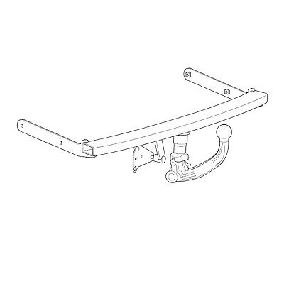 Westfalia Towbar for Audi A3 Hatchback Quattro 1996-2003