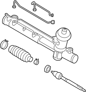NEW GENUINE MAZDA RACK AND PINION FOR 08-11 TRIBUTE S i