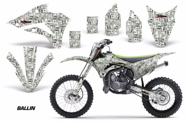 Dirt Bike Graphics Kit Decal Wrap For Kawasaki KX85 KX100