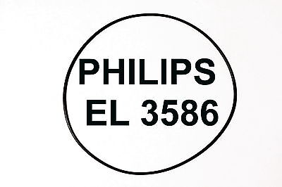 COURROIES PHILIPS EL 3586 EXTRA FORT MAGNETOPHONE A BANDE