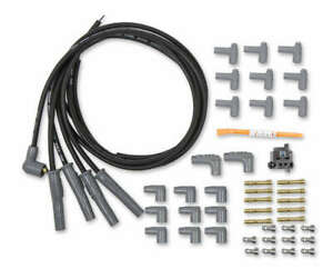 MSD IGNITION Spark Plug Wire Set 4cyl Universal P/N