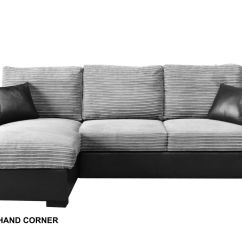 Gianni Corner Sofa Bed Review Cambuur Helmond Sport Sofascore Giani Fabric Right Hand Side Grey Ebay Norton Secured Powered By Verisign
