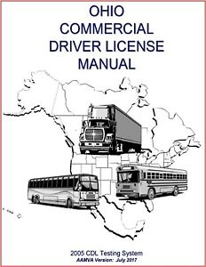 Ohio CDL Study Guide Commercial Driver's License Training