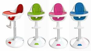 swivel high chair baby jumbo rocking cushions bebe style modern 360 highchair easy clean child kids image is loading