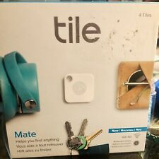 tile mate pack of 4 bluetooth tracker white rt 13004