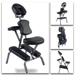 Massage Chair Portable Square Pub Table And Chairs Tattoo Exam Salon Facial Bed Spa Case Fold Pad New