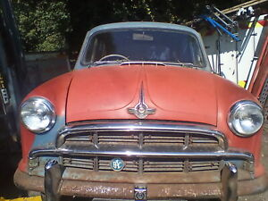 Morris Oxford 1954 Spares or repairs . I also have a car for breaking .