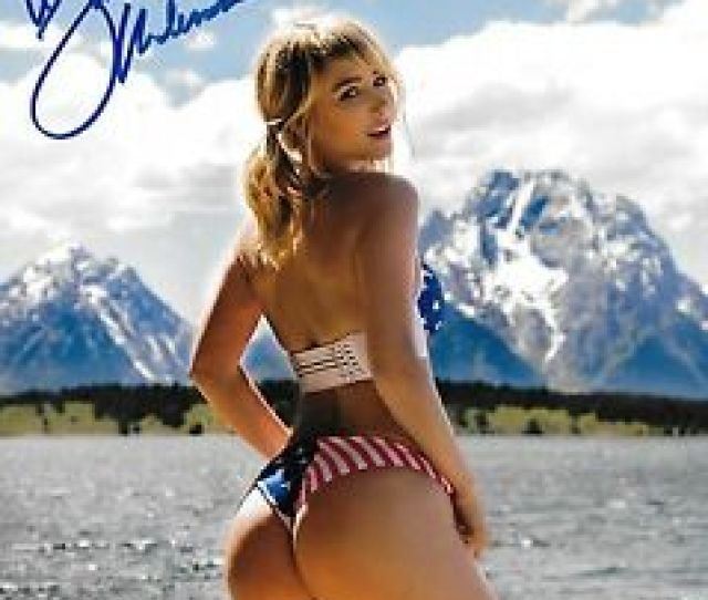 Image Is Loading Sara Jean Underwood Signed X Photo Bas Beckett