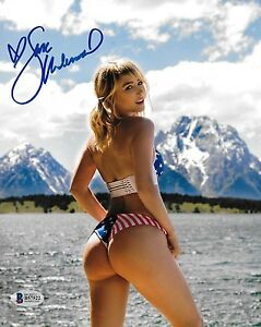 Image Is Loading Sara Jean Underwood Signed 8x10 Photo Bas Beckett