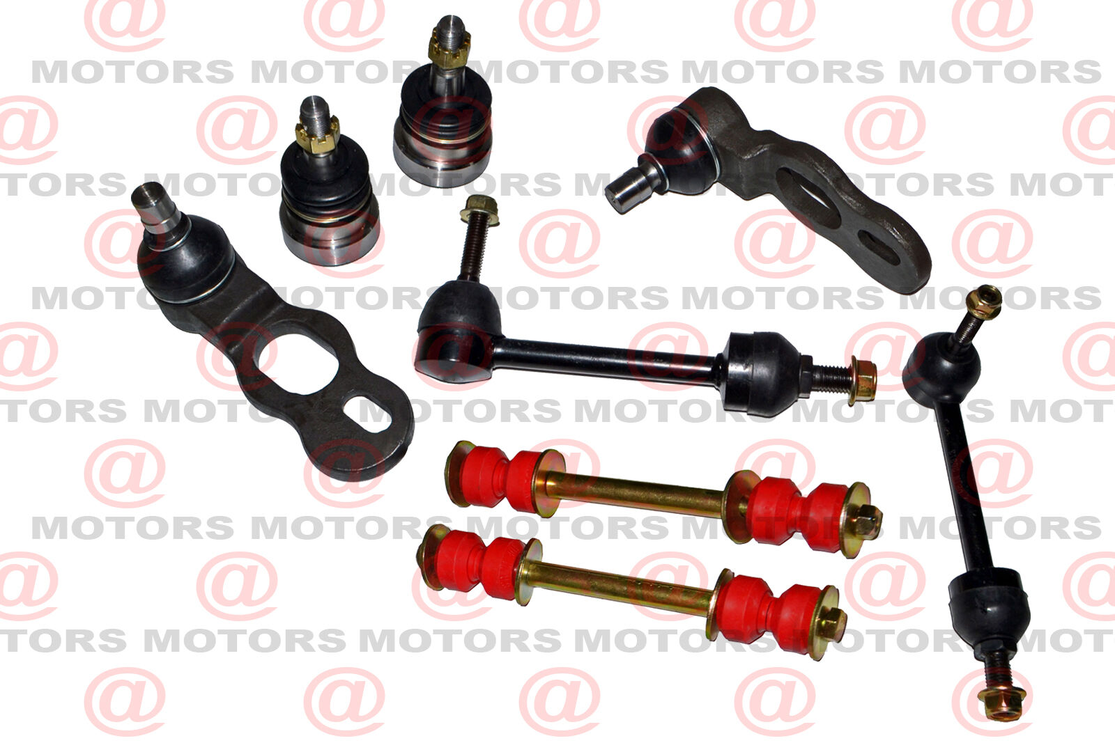 hight resolution of details about fits ford crown victoria 98 02 front lh rh upper lower ball joints sway bar link