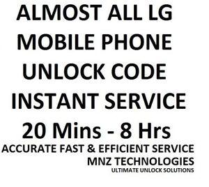 Unlock code LG G Stylo H634 & LG Risio H343 Cricket