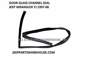 Front Upper Window Glass Run Channel Seal LH or RH for