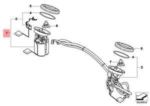 Genuine BMW E87 E90 E91 E92 Fuel Pump + Level Sensor