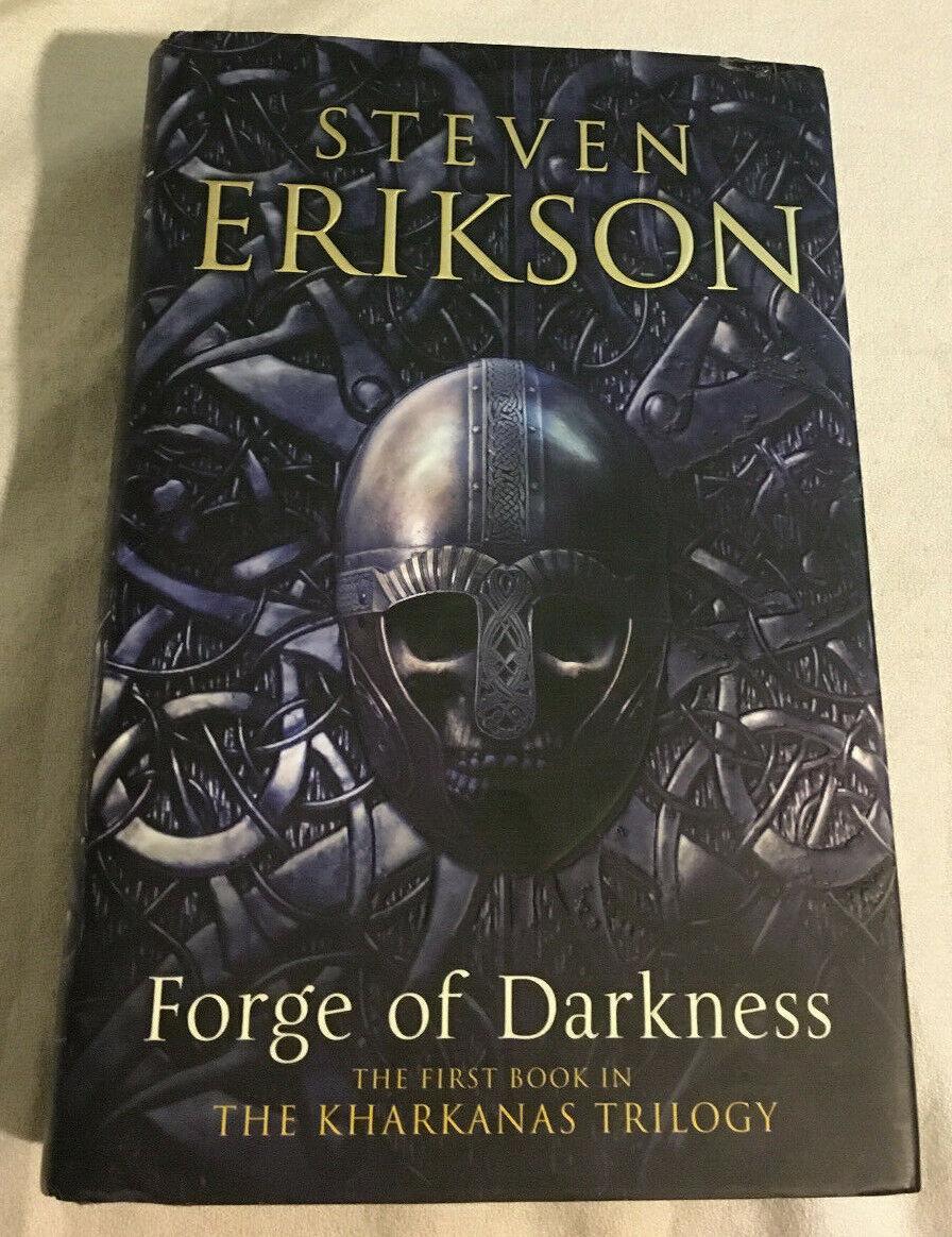 Kharkanas Trilogy : kharkanas, trilogy, Forge, Darkness, Steven, Erikson, Signed/limited, IMPORT, Online