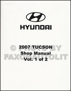 2007 Hyundai Tucson Shop Manual Volume 1 Engine Emissions