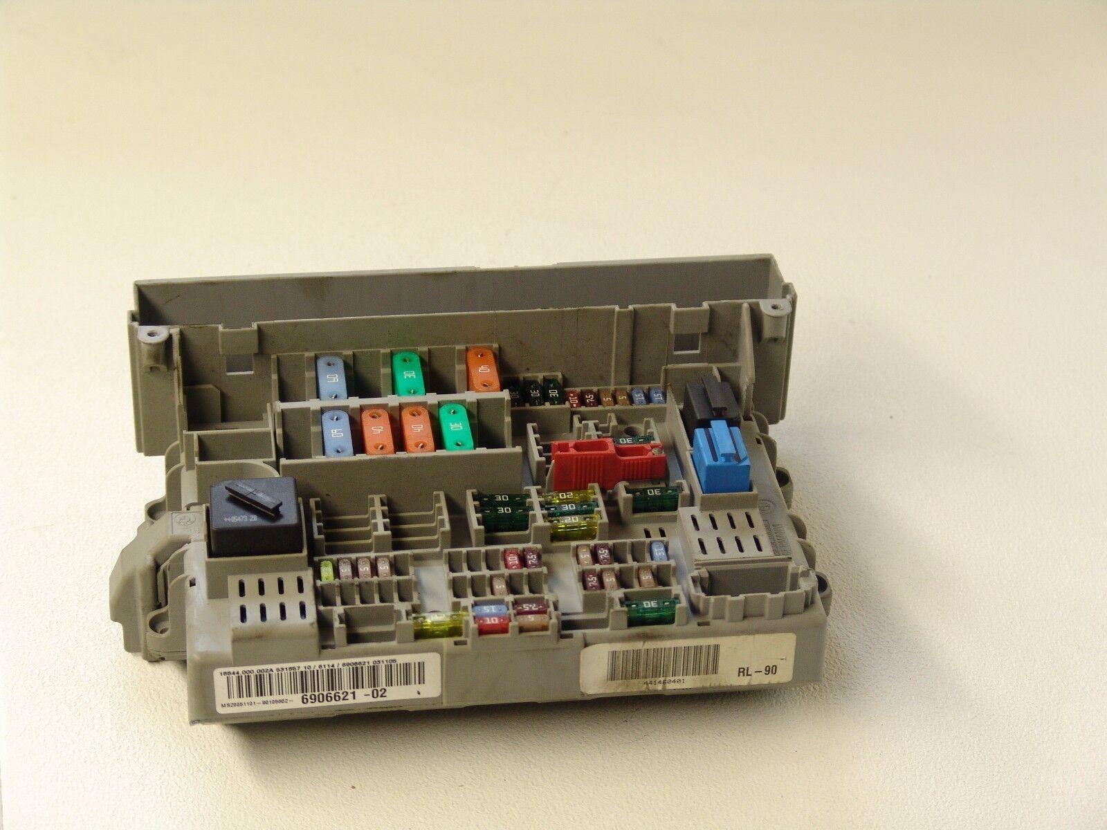 hight resolution of oem bmw e90 2005 3 series fuse power distribution box 6906621 bmw e93 fuse box wiring