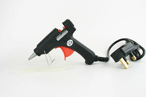 Diy Electric Hot Melt Adhesive Glue Gun Gb Plugs Home Craft Glue Sticks Ebay