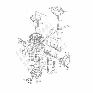 Partman TKB7 Carburetor Compabl Sukuzi King Quad LT-F4WDX