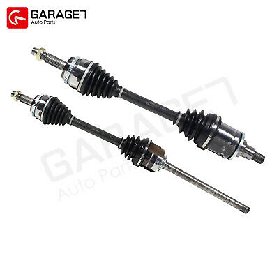 Pair Front CV Joint Axle Assembly Fit 2008-2012 Toyota