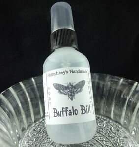 BUFFALO BILL Men's Body Spray Leather Scent All Natural ...