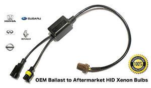 OEM Ballast to HID Xenon Headlight Bulb Kit Adapter