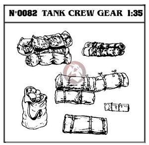 Verlinden 1/35 US Tank Crew Gear (Military Rucksacks