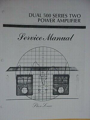 PHASE LINEAR PL D-500 / Dual 500 Series II AMPLIFIER