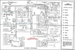 beetle wiring diagram uk door chime jaguar e type 4 2 11 19 stromoeko de electrical xke s2 1969 1971 rh ebay co