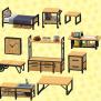 Ironwood Furniture Diy Animal Crossing New Horizons Ebay