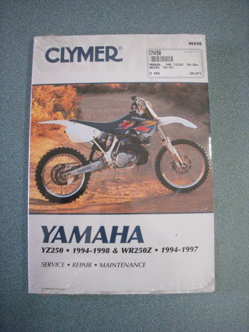 small resolution of norton secured powered by verisign 1994 1997 yamaha wr250z clymer motorcycle repair manual