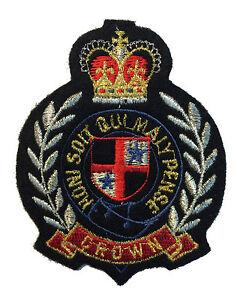 Honni Soit Qui Mal Y Pense : honni, pense, Pense, Patch, Crest, Badge, British, Knight, Garter