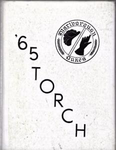 1965 MARLBORO CENTRAL HIGH SCHOOL YEARBOOK, THE TORCH