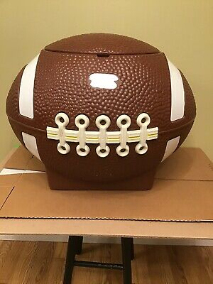 Football Toy Box : football, Little, Tikes, Football, Mancave, Party, Chest, W/Lid, Tailgate, Hamper