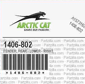 Arctic Cat 2007 Prowler 650 H1 XT 4x4 Right Lower Rear