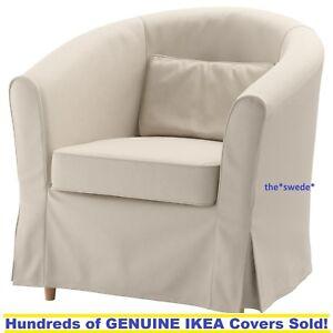 arm chair covers ebay revolving in olx ikea ektorp tullsta armchair cover slipcover lofallet beige image is loading