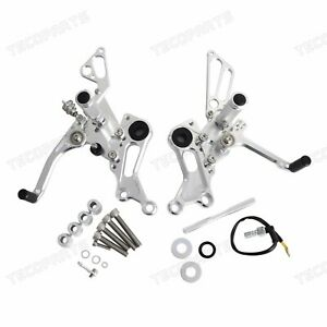 CNC Rear Sets Footrests for Ducati Monster 1100 EVO 2011