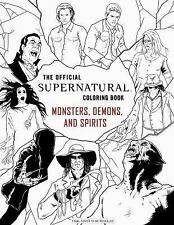 Supernatural: the Official Coloring Book (2016, Paperback