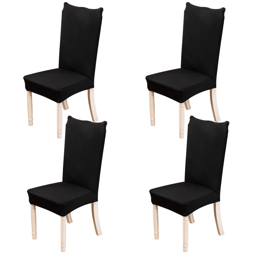 Parsons Chair Covers 4pcs Spandex Stretch Chair Cover Party Decor Wedding Dining Room Seat Covers 152742474141 Ebay