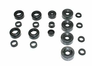 CAR SET OF BRAKE CYLINDER RUBBERS FOR THE AUSTIN A40