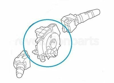 NEW 25560-ZS00B FITS FOR PATHFINDER 2007-2010 CLOCK SPRING